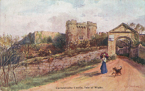 Carisbrooke Castle, art